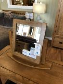Vanity Table Mirror (Original Rustic) See Picture For Dimensions and Product Info