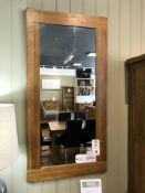 Wall Mirror (Original Rustic) See Picture For Dimensions and Product Info