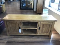 Wide Screen TV Stand (Original Rustic) See Picture For Dimensions and Product Info