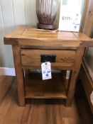 1 Drawer Nightstand (Original Rustic) See Picture For Dimensions and Product Info