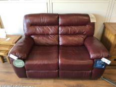 2 Seater Reclining Sofa (Devon) See Picture For Dimensions and Product Info
