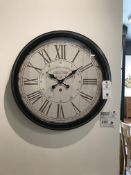 Wall Clock (Hendon) See Picture for Dimensions and Product Info