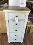 5 Drawer Dresser/ Lingerie Chest (Shay) See Picture For Dimensions and Product Info
