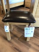 Vanity Table Stool (Galway) See Pictures For Dimensions and Product Info