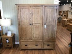 Large Armoire (Original Rustic) See Picture For Dimensions and Product Info