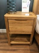 1 Drawer Bedside Table (Romsey) See Picture For Dimensions and Product Info