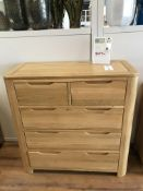 2+3 Dresser (Romsey) See Picture For Dimensions and Product Info