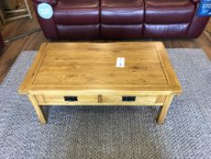 4-Drawer Storage Coffee Table (Original Rustic) See Picture For Dimensions and Product Info
