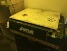 A&M HOBL BBHO 2883 Exposure Unit w/Spare Glass & Manual