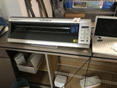Roland #GX24 Camm 1 Servo Bench Top Vinyl Cutter w/Laptop, Software, Inst Book