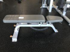 Precor Multi Adj. Bench On Wheels S/N BPRT107140068