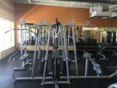 Precor MultiFunction Gym Including: Pulldown 304 (250lbs max), Longpull 302 (250lbs Max), 2