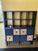 (2) Cubby Wall Units