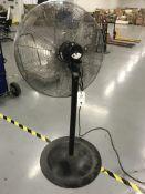 Global Pedestal Fan Adj. Height w/ Wheel Kit