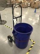 Hand Truck w/ Trash Barrel