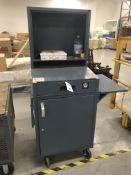 Portable Steel Shippers Desk