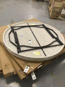 "(NIB) Lifetime 60"" Round Plastic Folding Table"