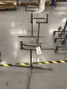 (3) Chrome Adj. Height Roller Stands