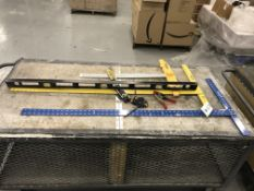 (Lot) Asst. Dry Wall Square Levels Etc.…