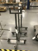 (3) Adj. Height Portable Stands