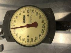 Chatillon #BD400 400LB. Vintage Hanging Scale