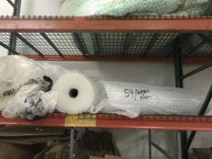 (Lot) Bubble Wrap & Foam Rolls