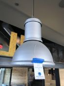 (5) Industrial Look Single Bulb Pendant Light - To be Disconnected by Customers Licensed