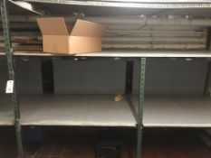 3 Sections of Metal Shelving