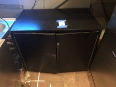 "Formica Storage Cabinet 34"" x 20"""