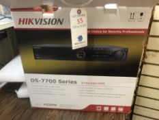 Hikvision #DS7700 Series Embedded NVR - Live View From Cell Phone or Internet (NIB)
