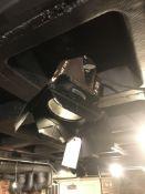 Theatrical Spot Light w/Shutters & Bracket (Standard Plug)