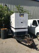 Cat XQ30 2 Axle Towable Generator, Hours: 7147, Cat 3054C Diesel Motor
