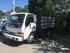 1999 Isuzu NPR Rack Body Truck, A/C, 5-Speen Manual Transmission, Turbo Diesel, 12' Rack Body,