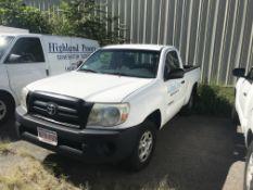 2010 Toyota Tacoma Pickup Truck 5-Speed Transmission, A/C, Rear Sliding Window, Odom: 258,950 (