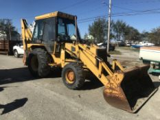 JCB 1550B 4x4 Loader Backhoe, PIN 308412, Hours 8215, 8' Bucket, MACHINE RUNS!