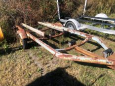Snowco Approx. 15' Single Axle Trailer (NO TITLE)