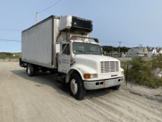 1994 international Navistar 4900, 6 Wheel Refrigerated 24' Box truck, Hackney Box, Lift, TRUCK RUNS
