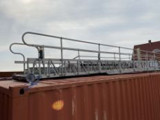 Approx. 35' Gangway (ON TOP OF CONEX BOX)