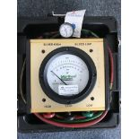 Midwest Instruments #830 Back Flow Tester w/Hose & Case