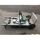 Hitachi Mitre Saw w/ Ridgid MS-UV Portable Table
