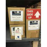 {LOT} (5) Pieces c/o: 3 Huguenot Demo Test Kits & Water Sample Kits