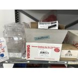 {LOT} On 1 Shelf c/o: Viking Voice Alarms, Relief Valve Repair Kit, Valves, Victaulic