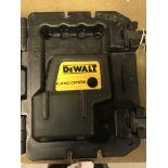 Dewalt #DW084 Self Leveling Plum & Square 4 Beam Laser w/Case