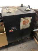 "Steel Oil Storage Container 30"" x 26"" x 36"""