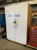 Paramount Wood Storage Cabinet NO CONTENTS