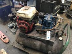 Emglo #K Gas Powered Portable Air Compressor w/Honda 8HP Motor