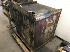 "Steel Oil Storage Container 36"" x 36"" x 34"""