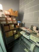 [Lot Medical Supplies in One Closet C/O: Thread Assists, Tuohy Needles, Clamps, Guides, Cables