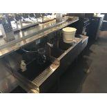12' Of SS Underbar Sinks, Bottle Racks & Ice Bins