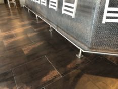 56' Total of Stainless Steel Footrail On The Base of the Bar (To Be Removed By Purchaser As are
